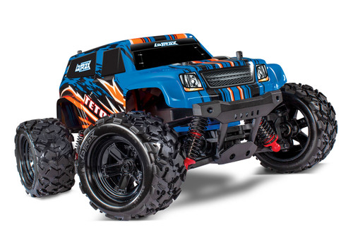 Traxxas LaTrax Teton 1/18 4WD RTR Monster Truck w/ 2.4GHz Radio, Battery and AC Charger, Blue