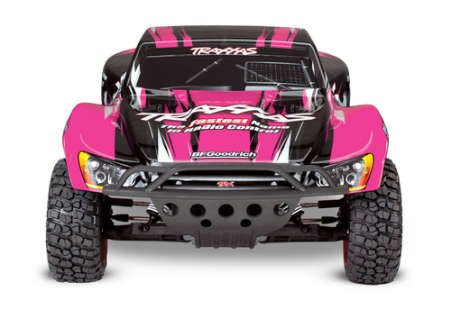 Traxxas Slash 1/10 RTR Short Course Truck w/XL-5 ESC, TQ 2.4GHz Radio, Battery & DC Charger (Pink Edition)