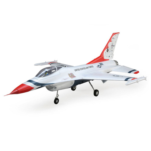 E-flite F-16 Thunderbird 70mm BNF Basic Electric Ducted Fan Jet Airplane (815mm) w/ AS3X