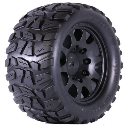 PowerHobby Raptor XL Belted Tires, w/ Viper Wheels, Xmaxx 8S