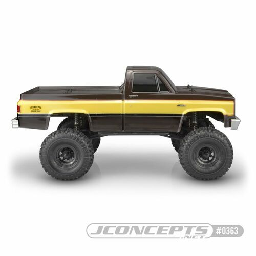 JConcepts 1982 GMC K10 Scale Rock Crawler Body (Clear)