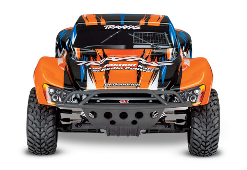 Traxxas Slash 1/10 2wd RTR Short Course Truck w/XL-5 ESC, TQ 2.4GHz Radio, Battery & DC Charger (Orange)
