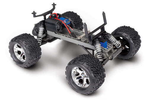 Traxxas Stampede 1/10 Scale Monster Truck Ready-to-Race with TQi 2.4GHz radio system and XL-5 ESC, No Battery or Charger (Green)