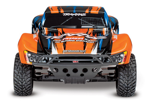 Traxxas Slash VXL 2WD Brushless 1/10 RTR Short Course Truck w/TQi, TSM (Orange)
