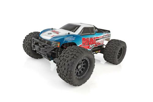 Team Associated Rival MT10 RTR 1/10 Brushless Monster Truck Combo w/ 2.4GHz Radio & Battery & Charger