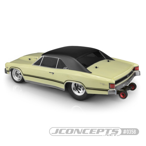 JConcepts 0358 1967 Chevy Chevelle Street Eliminator Drag Racing Body (Clear)