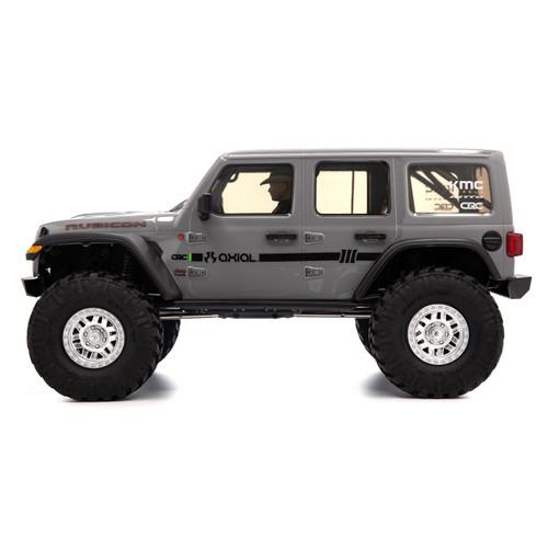 """Axial SCX10 III """"Jeep JLU Wrangler"""" RTR 4WD Rock Crawler (Gray) w/ Portals & DX3 2.4GHz Radio"""
