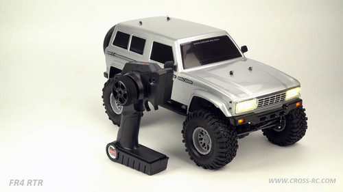 Cross RC FR4 1/10 Demon 4x4 RTR Crawler (Gunmetal) w/ 2.4GHz Radio