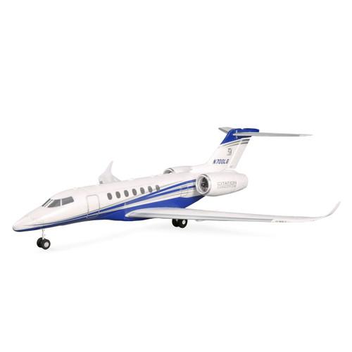 E-flite UMX Citation Longitude Twin 30mm EDF BNF Basic Electric Airplane (638mm) w/ AS3X & SAFE Select