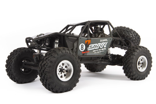 Axial RR10 Bomber 2.0 1/10 RTR Rock Racer (Grey) w/ DX3 Radio