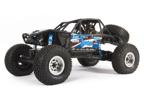 Axial RR10 Bomber 2.0 1/10 RTR Rock Racer (Blue) w/ DX3 Radio