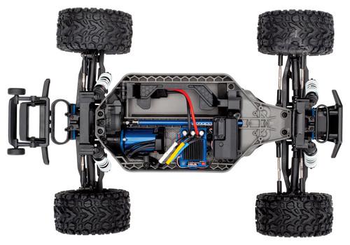 Traxxas Rustler 4X4 VXL Brushless RTR 1/10 4WD Stadium Truck w/TQi 2.4GHz Radio & TSM (Blue)