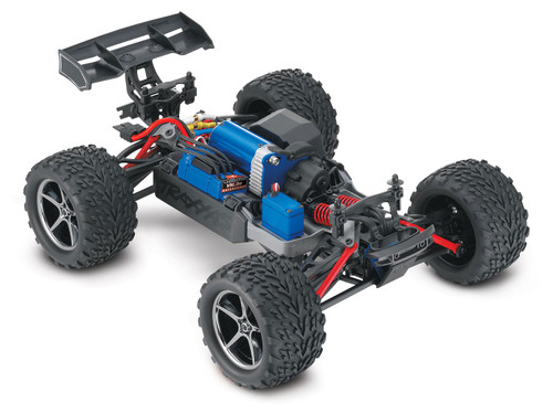 Traxxas E-Revo VXL 1/16 4WD Brushless RTR Truck (Blue) w/TQi 2.4GHz Radio, TSM, Battery and DC Charger