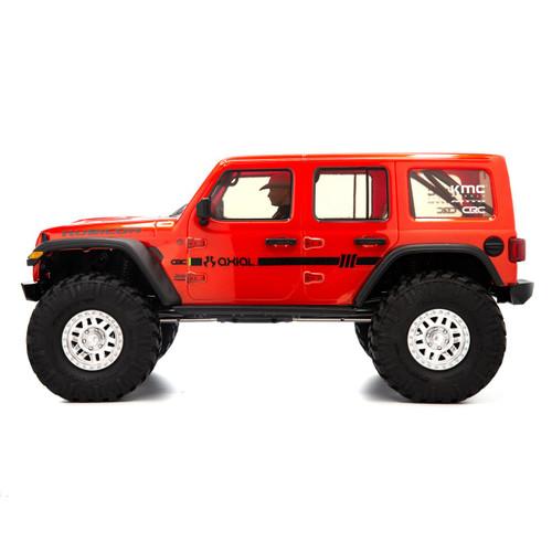 """Axial SCX10 III """"Jeep JLU Wrangler"""" RTR 4WD Rock Crawler (Orange) w/ Portals & DX3 2.4GHz Radio"""