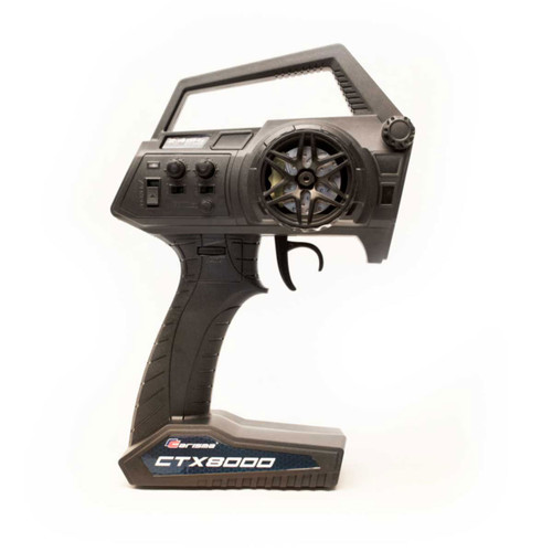 Carisma CTX8000 2.4GHz FHSS 2-Channel Pistol Radio w/ 2 Receivers