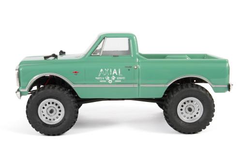 Axial SCX24 1967 Chevrolet C10 1/24 4WD RTR Scale Mini Crawler (Green) w/2.4GHz Radio