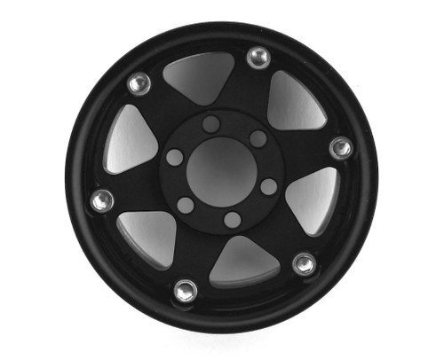 Vanquish Products Method MR310 1.9 Beadlock Crawler Wheels (Black/Silver) (2)