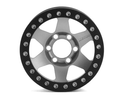 Vanquish 07764 Method MR310 1.9 Beadlock Crawler Wheels (Clear/Black) (2)