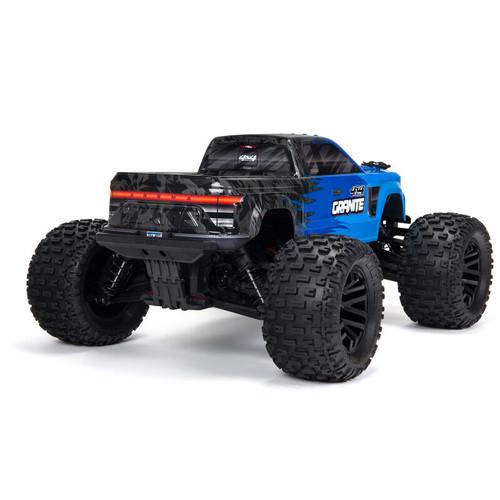 Arrma Granite 4x4 V3 550 Mega RTR Monster Truck (Blue) w/ Spektrum SLT3 2.4GHz Radio