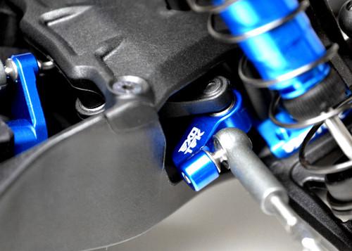 Exotek Racing 1943 DR10 Aluminum HD Steering Rack (Blue)