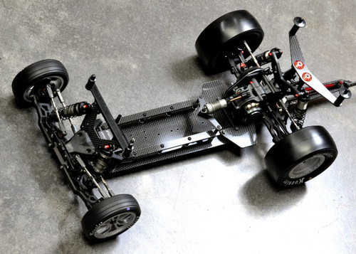 Exotek Racing 1952 22 Vader Drag Chassis CF Conversion for TLR Buggies
