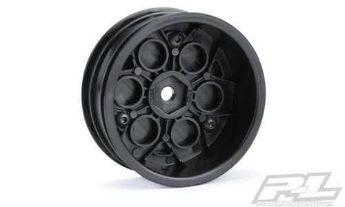 "Proline 2782-03 Showtime 2.2"" Sprint Car 12mm Hex Front Black Wheels"