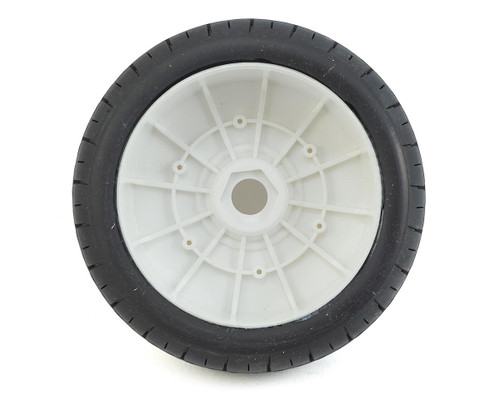 DuraTrax Bandito 1/8 Buggy Tire C3 Mounted White (2) DTXC3639