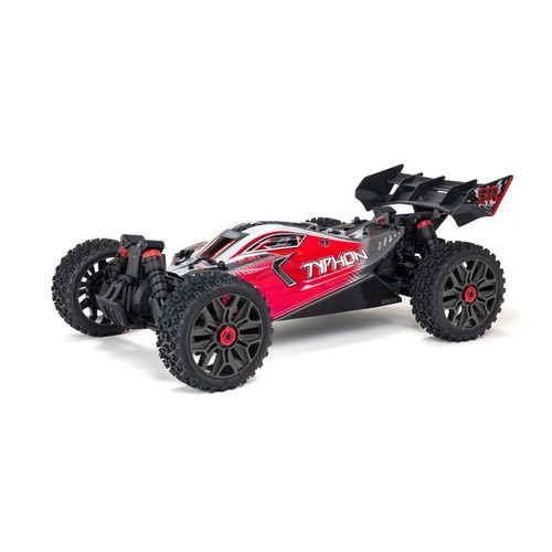Arrma Typhon V3 3S BLX Brushless RTR 1/8 4WD Buggy (Red) w/Spektrum SLT3 2.4GHz Radio