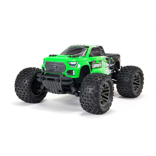 Arrma Granite 4X4 V3 3S BLX 1/10 RTR Brushless 4WD Monster Truck (Green) w/ Spektrum SLT3 2.4GHz Radio
