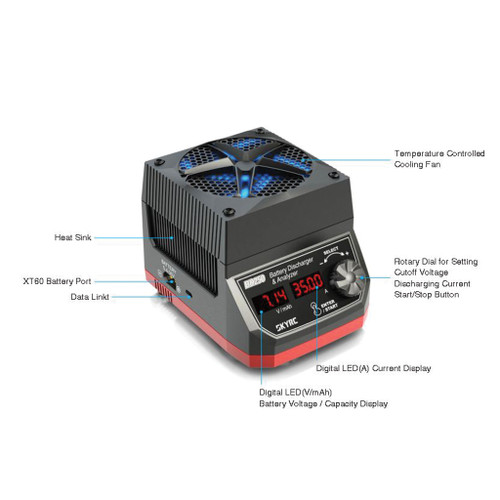 Sky RC BD250 250W/35A Battery Discharger and Analyzer