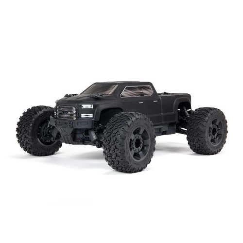Arrma Big Rock 4X4 V3 3S BLX 1/10 RTR Brushless Monster Truck (Black) w/Spektrum SLT3 2.4GHz Radio