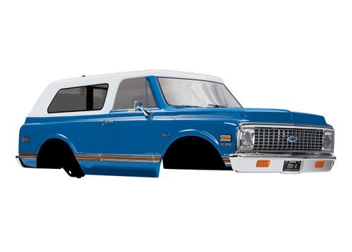 Traxxas 9111X Chevrolet 1972 Blazer, Blue