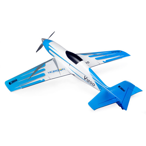E-flite V1200 1.2m BNF Basic Electric Airplane (1200mm) w/ AS3X & Safe Select