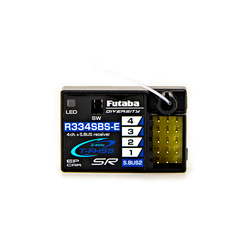 Futaba 7PXR 7-Channel 2.4GHz T-FHSS Telemetry Radio System w/R334SBS-E (Electric Models Only)