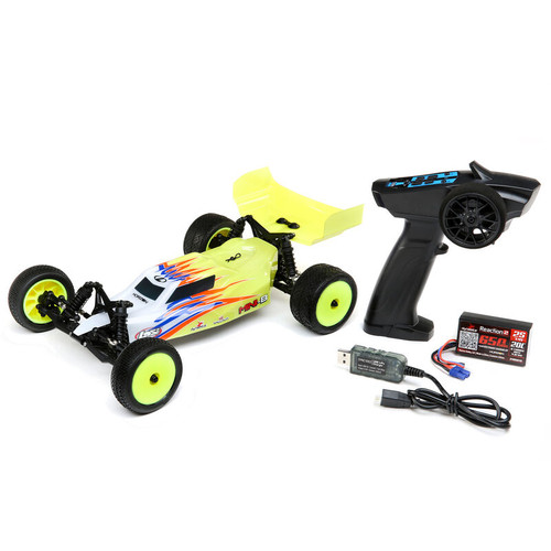 Losi Mini-B 1/16 RTR 2WD Buggy (Yellow) w/2.4GHz Radio, Battery & Charger