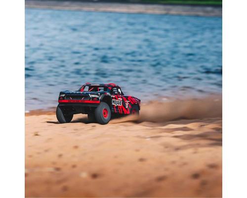 Arrma Mojave 6S BLX Brushless RTR 1/7 4WD RTR Desert Racer (Black/Red) (V2) w/SLT3 2.4GHz Radio