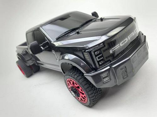 Cen Racing Ford F450 1/10 4WD Solid Axle RTR Truck, Grey