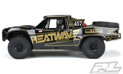 Pro-Line 3547-18 1967 Traxxas UDR Ford F-100 Heatwave Edition Pre-Painted & Pre-Cut Body