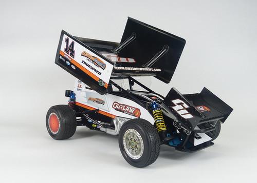 Custom Works Outlaw 4 Sprint Car Kit