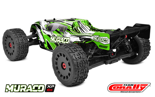 Team Corally Muraco XP 6S 4WD 1/8 Truggy LWB RTR Brushless