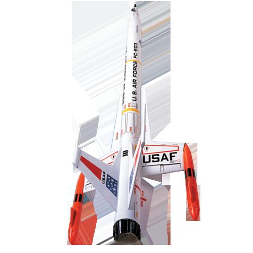 Estes Interceptor Model Rocket Kit, Skill Level 2