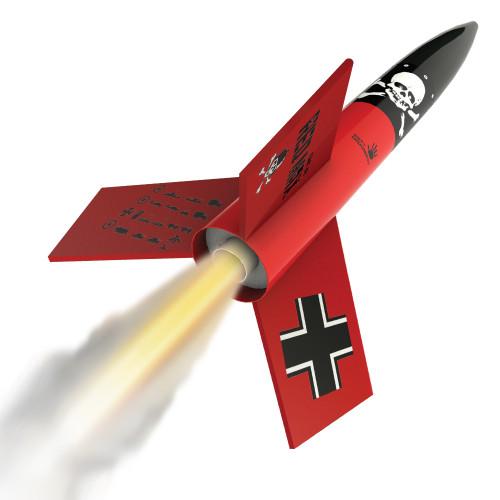 Estes Der Red Max Rocket Kit, Skill Level 1