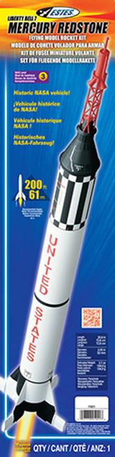 Estes Mercury Redstone Model Rocket Kit, Skill Level 3
