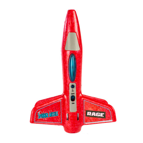 Rage RC Spinner Missile Red Electric Free-Flight Rocket