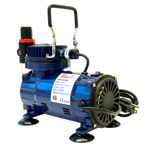 Paasche D500 Compressor with R75 Regulator