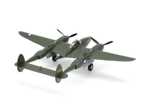 Tamiya 61120 1/48 Lockheed P-38 F/G Lightning Plastic Model Airplane Kit