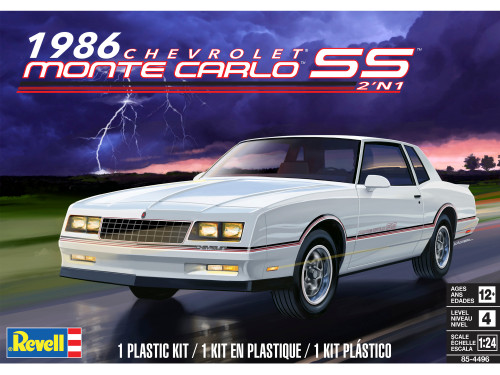 Revell 854496 1/24 86 Monte Carlo SS 2n1 Model Kit