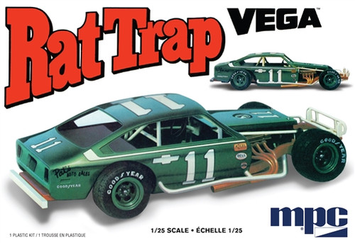 MPC 905M 1/25 1974 Chevy Vega Modified Rat Trap Model Kit