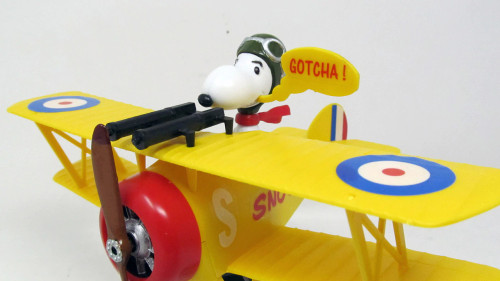 Atlantis AANM6779 Snoopy and His Sopwith Camel Model Snap Kit