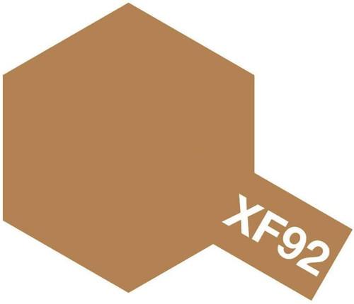 Tamiya 81792 Acrylic Mini XF92 Yellow Brown Paint (10ml)